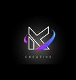 k trendy modern letter logo design monogram and vector image