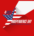 USA Independence Day Sale banner design template vector image vector image