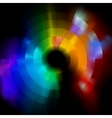colorful abstract vector mosaic background eps 8 vector image