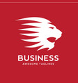 best lion head logo vector image