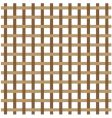 brown weave vector image vector image
