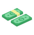 cash money icon vector image vector image