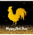 Chinese New Year Polygonal Rooster vector image vector image