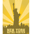 Retro new york background vector | Price: 1 Credit (USD $1)
