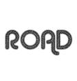 Road elements vector image vector image