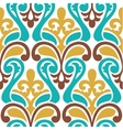 Seamless damask pattern Classic background vector image vector image
