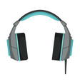 wireless headphones accessory for music listening vector image vector image