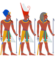 Ancient Egypt Pharaoh Pack For Passover vector image