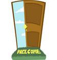 door to heaven vector image
