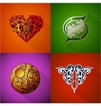 Emblems and badges vector image