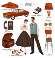 fashion and clothes furniture and objects 1950s