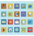 Flat icons for web design - part 3 vector image vector image