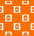 info folder pattern seamless vector image vector image