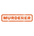 Murderer Rubber Stamp