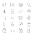 Navigation and location Icons Line Set Of copy