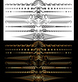 separators vector image