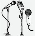 set microphone vector image vector image