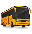 tourism bus isolated design vector image