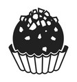 truffle icon simple style vector image