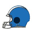 american football icon image vector image
