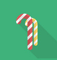 christmas candy icon set of great flat icons vector image