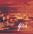 currupted glitch image background vector image vector image
