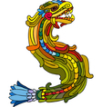 Dragon Rainbow Isolated vector image vector image