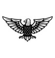 eagle icon isolated on white background design vector image vector image