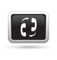 Phone connection icon vector image vector image