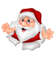 Santa Clause cartoon vector image vector image