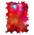 Shiny bokeh light Valentines day EPS 8 vector image vector image