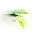 Straight lines futuristic modern background vector image vector image