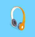 wireless headphones three dimensional icon vector image vector image