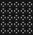 black seamless 3d texture interior wall vector image
