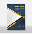 business modern flyer amp poster cover template vector image