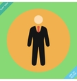 Businessman web icon - vector image