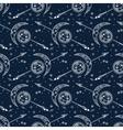 Celestial bohemian pattern vector image vector image