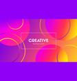 creative colorful background abstract vector image