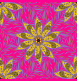 cute pattern with small flowers floral pattern vector image vector image
