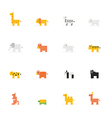 Icon Pixel animal vector image