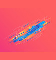 modern gradient banner with bright colorful vector image
