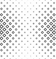 Monochrome square pattern vector image vector image