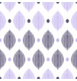 seamless ogee pattern vector image vector image