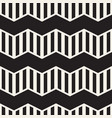 seamless zigzag line pattern abstract stylish vector image vector image