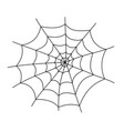 spider web cobweb icon spiderweb border vector image