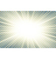 sun rays starburst bright effect isolated on vector image vector image