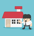 Concept business offering home loans vector image