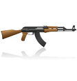 Automatic machine ak 47 01 vector | Price: 1 Credit (USD $1)