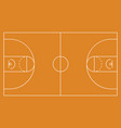 basketball arena background e vector image