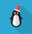 penguin icon set of great flat icons with style vector image vector image